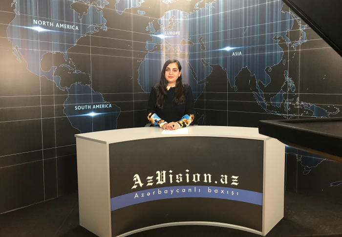 AzVision TV releases news edition of news in English for February 14 -  VIDEO