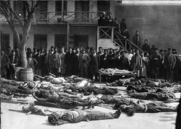 Armenians committed terrible genocide in Azerbaijan, Anatolia in early 20th century