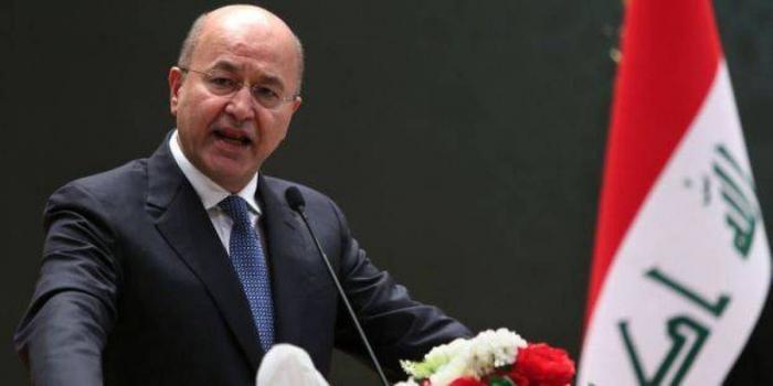 Le président irakien Saleh reçu par Macron le 25 février