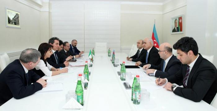 Azərbaycan-İtaliya iqtisadi əməkdaşlığı müzakirə olunub