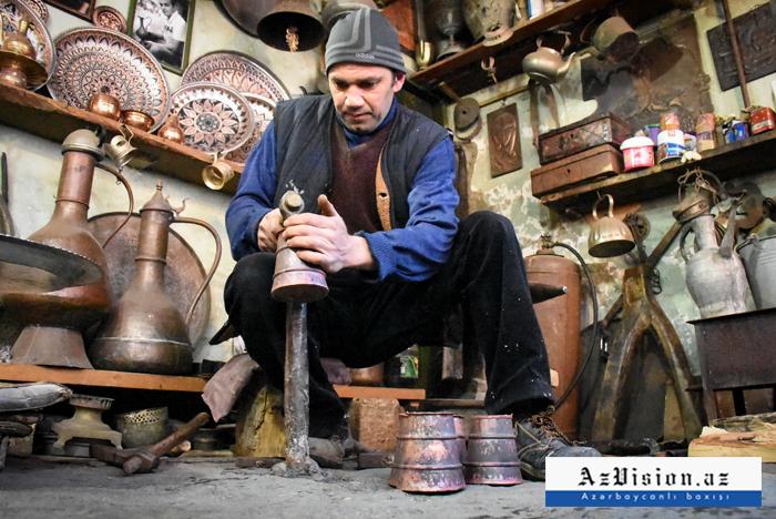 Lahıc sənətkarlarının əl işləri - FOTOREPORTAJ