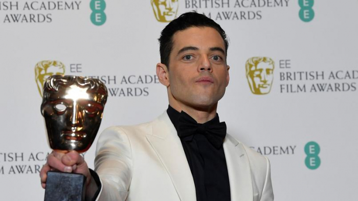 Bafta:  Rami Malek meilleur acteur, «Roma» meilleur film