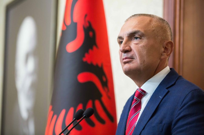 Albanian president due in Baku