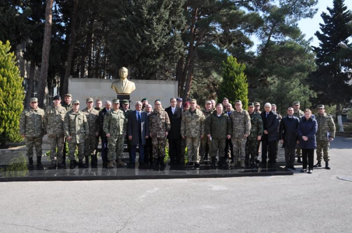 Military attachés visit Azerbaijan's defense industry enterprises