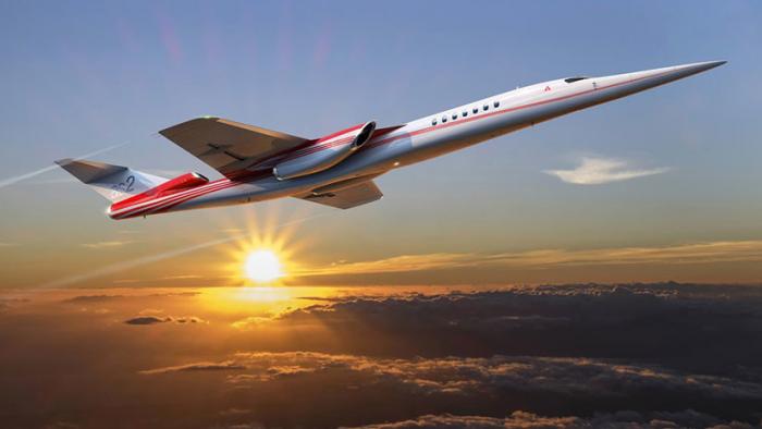 Comienzan a diseñar el avión de negocios supersónico AS2