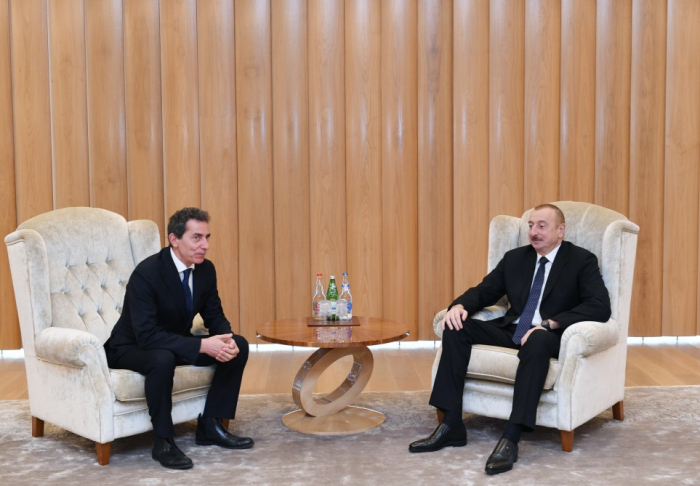 Ilham Aliyev ha efectuado una serie de reuniones