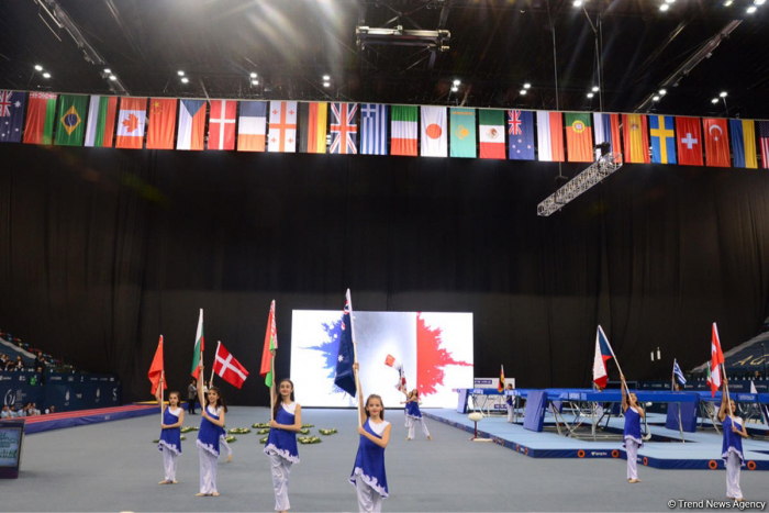 Trampoline & Tumbling World Cup opens at National Gymnastics Arena