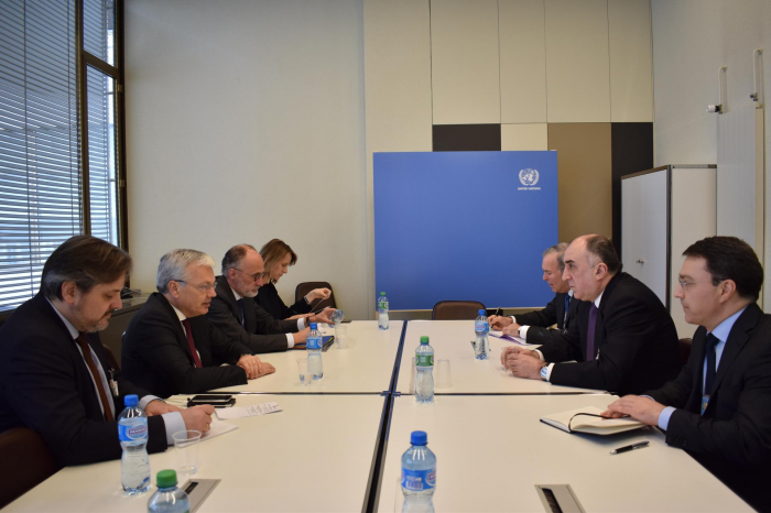 Mammadyarov meets with Deputy Prime Minister and Minister of Foreign Affairs and European Affairs of Belgium