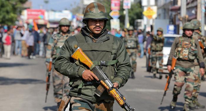 Hasta 12.000 paramilitares indios serán desplegados en Cachemira