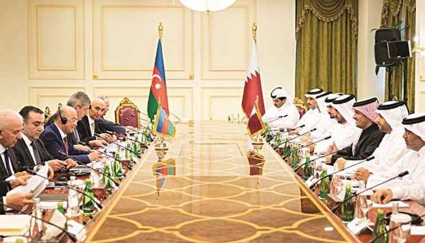 Azerbaiyán y Catar tienen intenciones de incrementar la circulación de mercancías