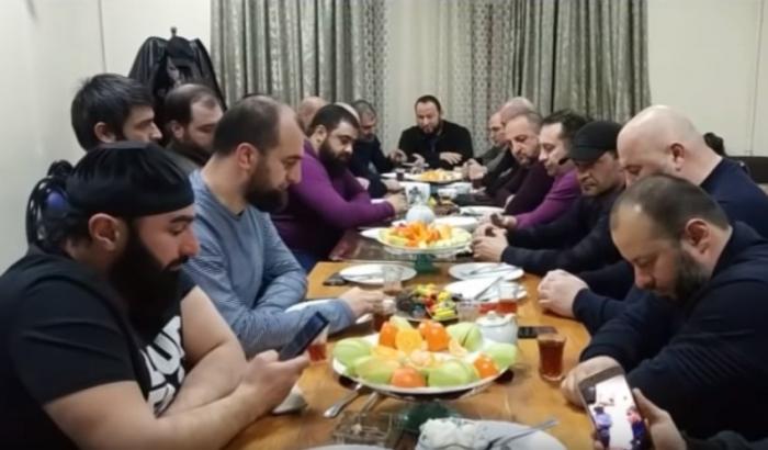 Moskvada çeçenlərlə azərbaycanlılar görüşdülər - VİDEO