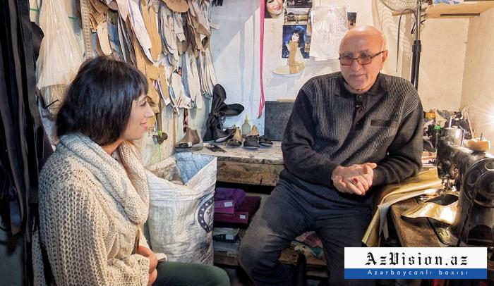"""50 ildir çəkməçi işləyən xanəndə: """"Bakıda mənə ikinci Hacıbaba deyirlər"""" - (VİDEO)"""