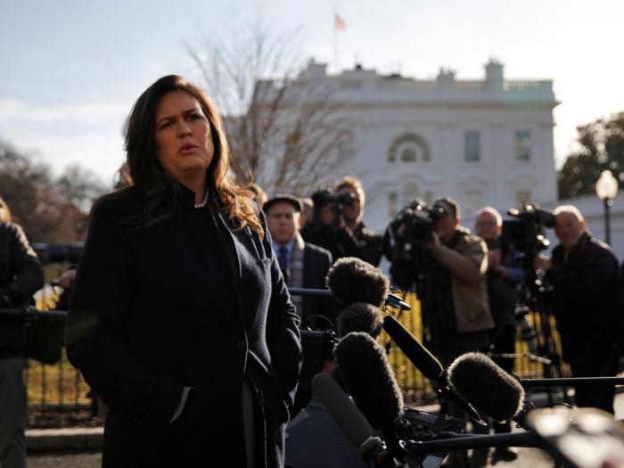Enquête russe :   la porte-parole de la Maison Blanche interrogée