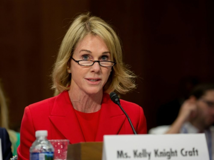 Trump nomme Kelly Knight Craft ambassadrice des Etats-Unis à l