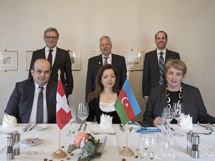 Aserbaidschanische Botschafterin zu Besuch
