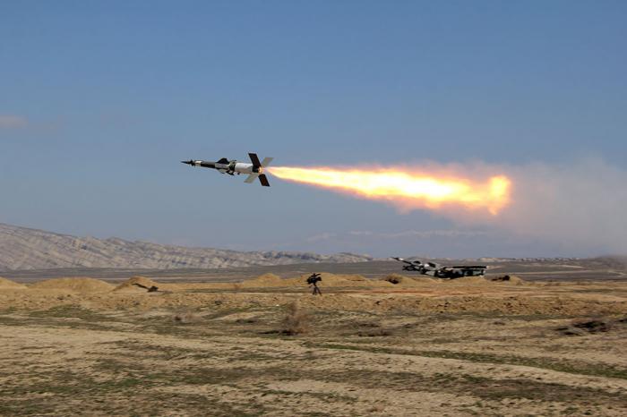Hərbi Hava Qüvvələrinin döyüş atışlı təlimləri keçirilib - VİDEO