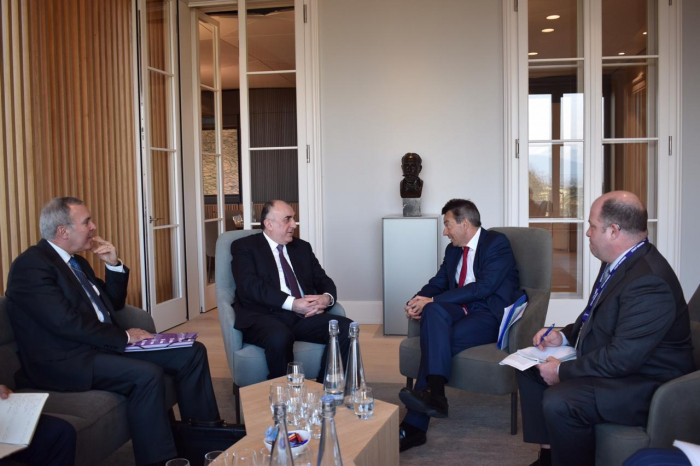 Azerbaijani FM meets with President of ICRC