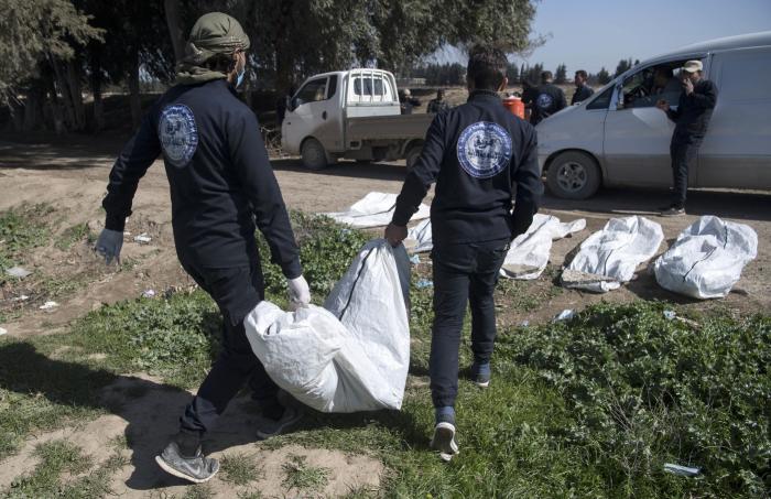 Syrie:   découverte d
