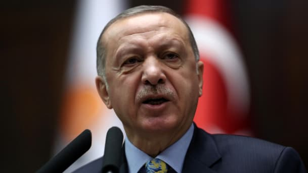 Erdogan:   Des armes occidentales entre les mains des terroristes