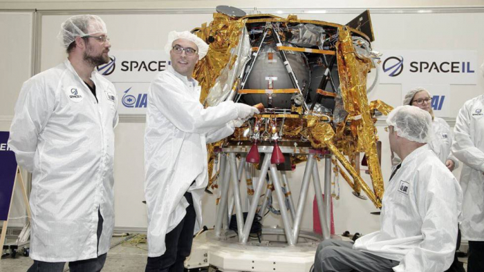 El sueño lunar israelí está listo para despegar