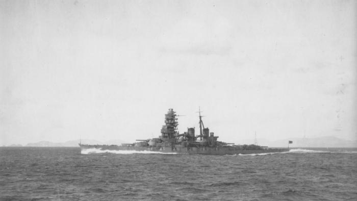 Hallan un acorazado japonés hundido por EE.UU. en la Segunda Guerra Mundial