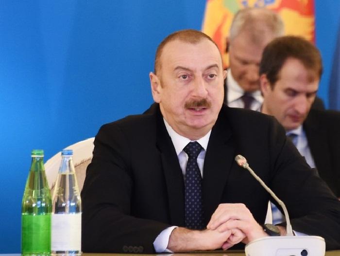 """Ilham Aliyev  : """" Estamos a punto de alcanzar la meta"""""""