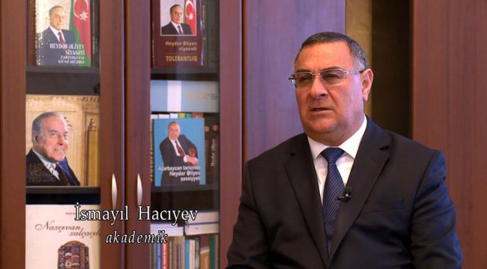Akademik İsmayıl Hacıyev mükafatlandırılıb