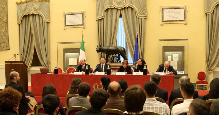 İtaliya parlamentində Xocalı ilə bağlı tədbir - FOTOLAR