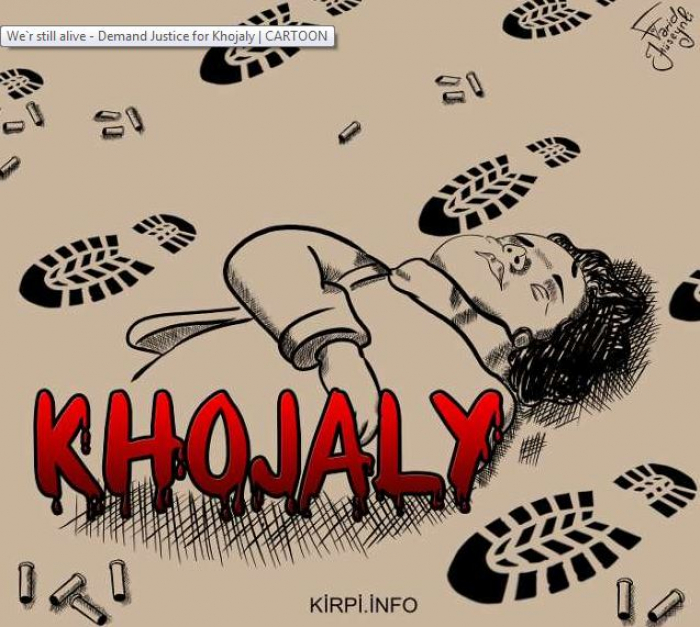 We are still alive - Demand Justice for Khojaly |  CARTOON