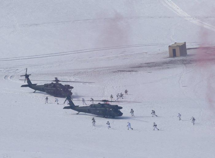 Turkey holding big military exercises on border with Armenia