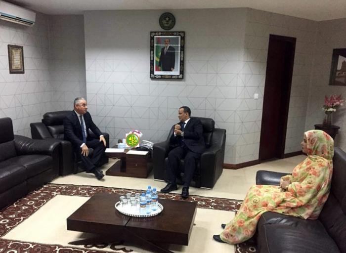 Flamante embajador de Azerbaiyán presenta las cartas credenciales al presidente de Mauritania