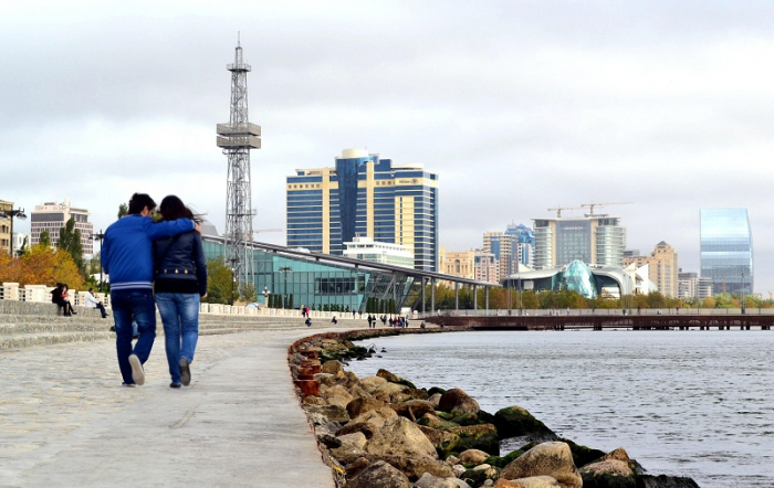 Bakú entre las ciudades más románticas de la CEI