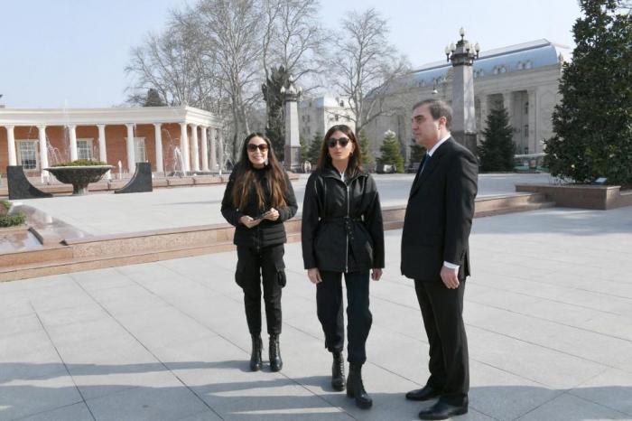 La première vice-présidente de la République est en visite à Gandja
