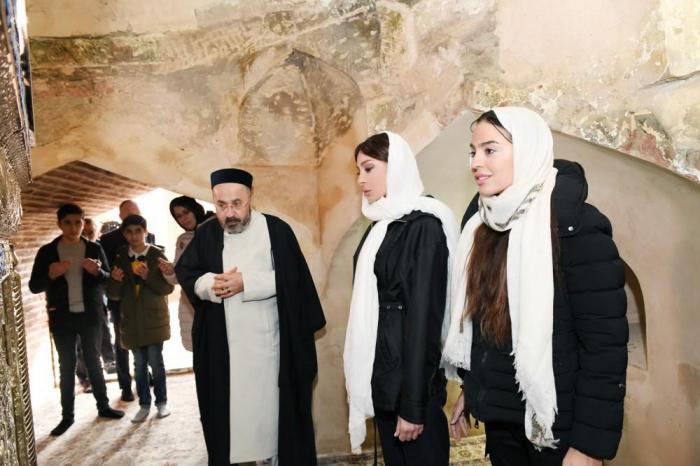 First VP Mehriban Aliyeva arrives in Ganja for visit