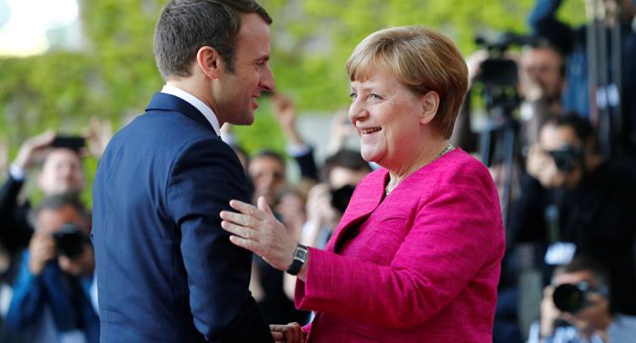 Macron verra Merkel mercredi sur le Brexit, les USA, la défense et l