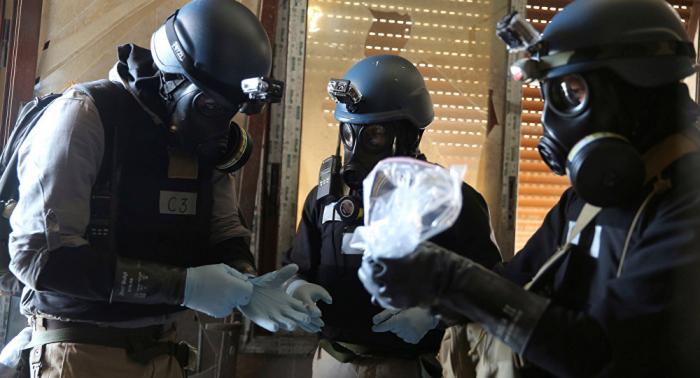 Moscú  : EEUU podría escenificar ataques químicas para mantener su presencia en Siria