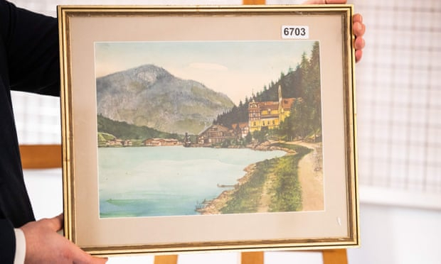 Five paintings allegedly by Adolf Hitler to be auctioned in Nuremberg