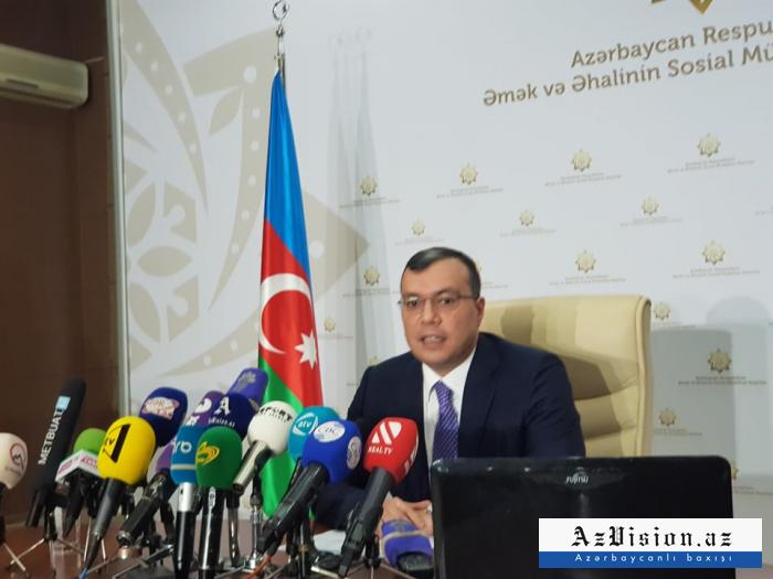 """Sahil Babayev: """"Əksər müavinətlər 100 faiz qaldırılıb"""""""