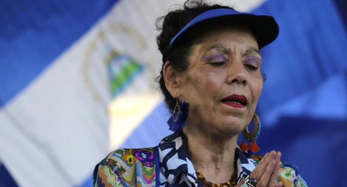 Vicepresidenta de Nicaragua: la ciudadanía aplaude el esfuerzo por la paz