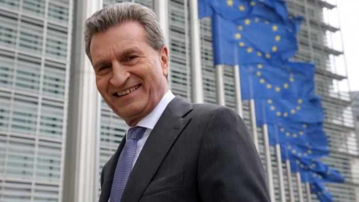 Günther Oettinger:   «Nous avons un objectif commun»