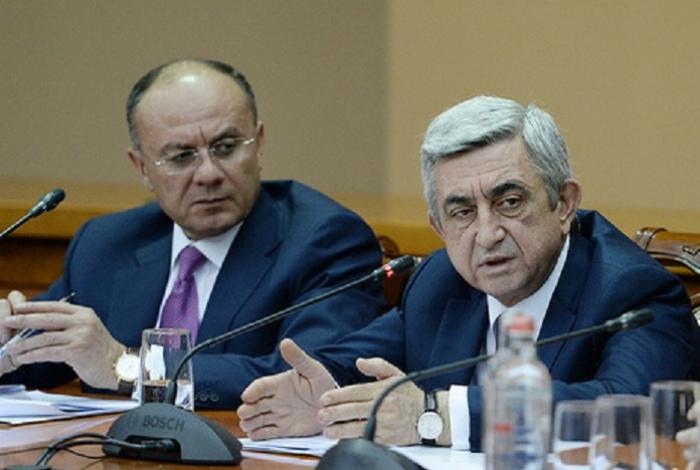 Sarkisyan Ohanyanla üzləşdirilib