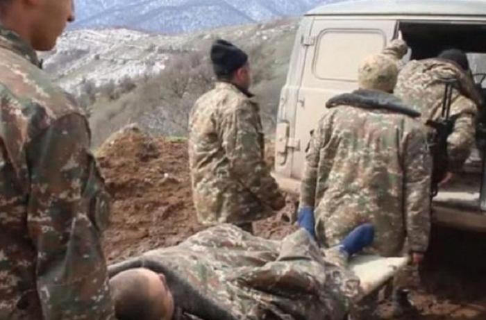 Ermənistan ordusunda daha bir itki