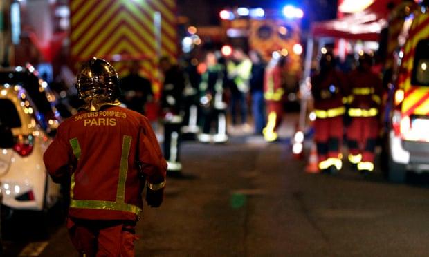 Paris fire: seven dead in blaze in eight-storey building