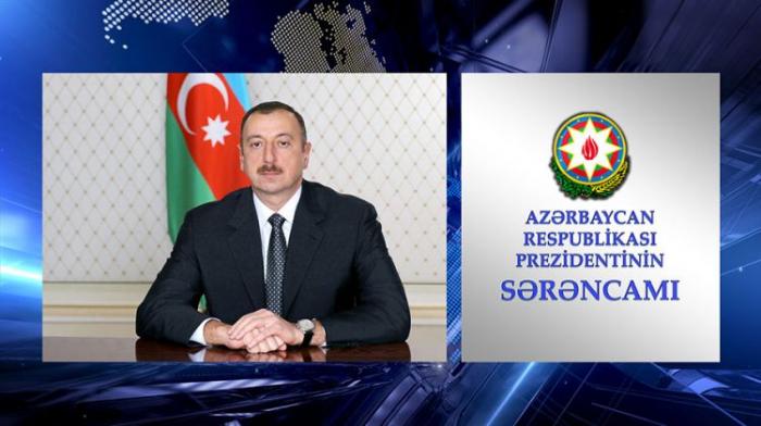 Prezident Naxçıvanın vergi əməkdaşlarını təltif edib