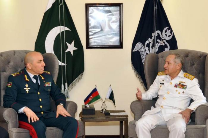 General Nağıyev Pakistanda hərbi təlimlərdə - FOTO