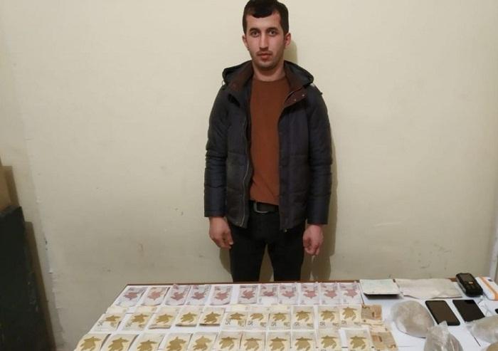 DSX-dan narkotik əməliyyatı: 3 kq-a yaxın heroin ələ keçirilib (FOTOLAR)