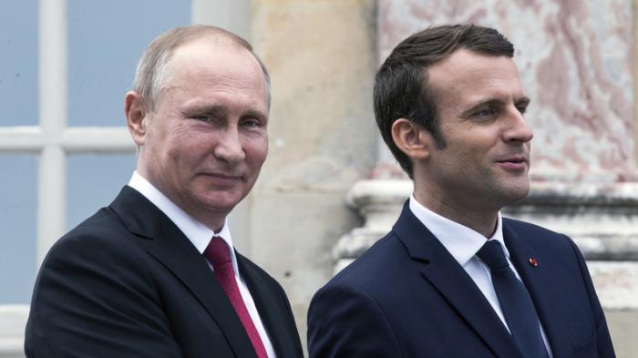 Entretien téléphonique entre Macron et Poutine sur la Syrie et l