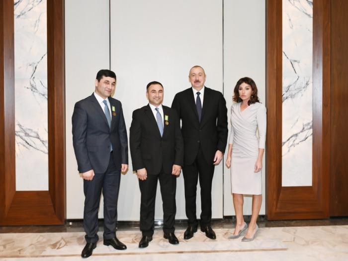 "President Ilham Aliyev awarded Sabir and Umud Shirinov brothers ""For Bravery"" medal"
