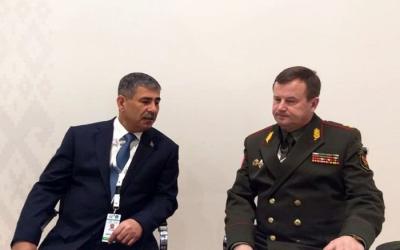 وزراء دفاع أذربيجان وبيلاروسيا قد يجتمع