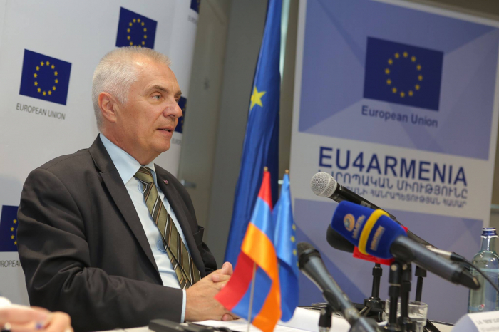 EU ready to contribute to rehabilitation of Karabakh conflict - Switalski